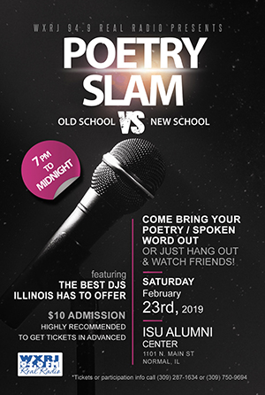 Poetry Slam flyer